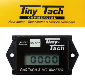 Прибор контроля оборотов двигателя (тахометр) Tiny Tach Commercial  индуктивный Design Technology, In